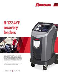 Robinair R-1234YF Recovery Leaders Flyer